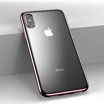 Benks Electroplating TPU Apple iPhone Xs Max Kýlýf Rose Gold