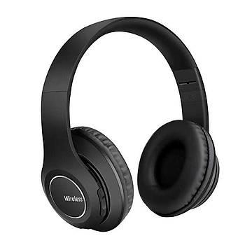 Zore BTK-ZR51 Katlanabilir Radyo Özellikli Bluetooth Kulaklýk Siyah
