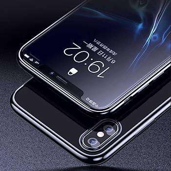 Benks Electroplating TPU Apple iPhone XS Kýlýf Black