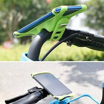 Zore Ergonomik Bisiklet Telefon Tutucu Siyah