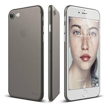 Elago Apple iPhone 7 / iPhone 8 Inner Core Ultra Ýnce Kýlýf Gri