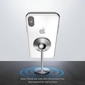 Baseus Araç içi Mýknatýslý Telefon Tutucu Silver