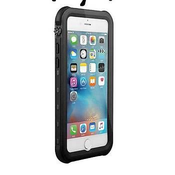 KinGcase Free Ýphone 7 / 8 Plus IP68 Outdoor Su Geçirmez Kýlýf Siyah