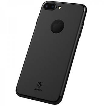 Baseus Simple Solid iPhone 7 Plus Soket Korumalý Kýlýf Siyah