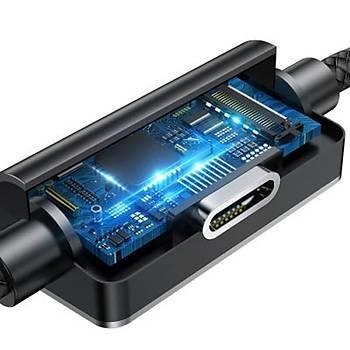 Baseus Cable Music Lightning Aux Dönüþtürücü Þarj Kablosu 1M