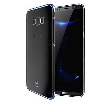 Baseus Samsung Galaxy S8 Plus Glitter Ultra Ýnce TPU Kýlýf Mavi
