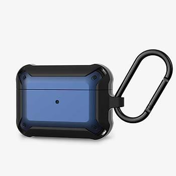 Wiwu APC004 Serisi Airpods Pro Kýlýf Black&Blue