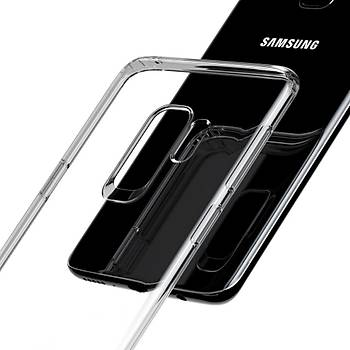 Baseus Simple Samsung Galaxy S9 Plus Transparan Kýlýf Þeffaf