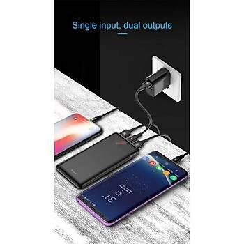 Baseus Mini CU Digital Display Ultra Slim Powerbank 10000 mAh