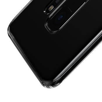 Baseus Simple Serisi Samsung Galaxy S9 Transparan Kýlýf Siyah