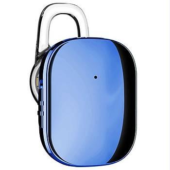 Baseus Encok A02 Serisi Mini Bluetooth Kulaklýk Mavi