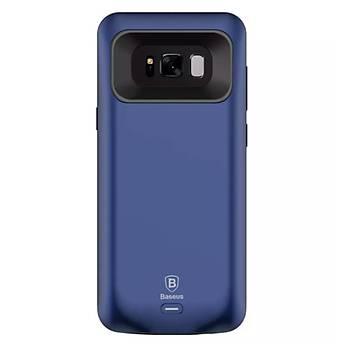 Baseus Geshion Backpack Galaxy S8 5000 Mah Þarjlý Kýlýf Lacivert