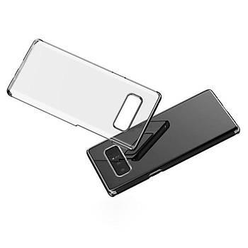 Baseus Samsung Galaxy Note 8 Glitter Ultra Ýnce TPU Kýlýf Siyah