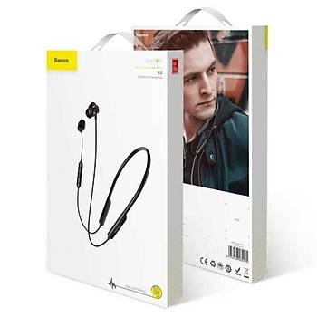 Baseus Encok Bluetooth Earphone S12 Su Geçirmez Kulaklýk Beyaz
