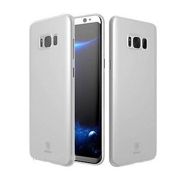 Baseus Samsung Galaxy S8 Plus Wing Ultra Ýnce Kýlýf Beyaz