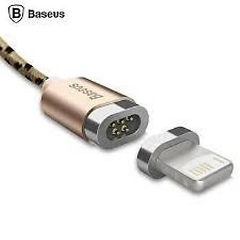 Baseus Insnap Lightning Manyetik Uç Çelik Örme Data Þarj Kablosu