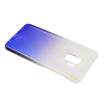 Baseus Glaze Samsung Galaxy S9 Ultra Slim Transparan Kýlýf Mor