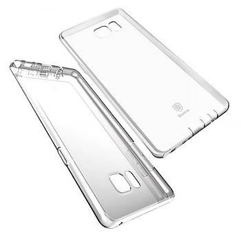 Baseus Air Serisi Samsung Galaxy Note Fan Transparan Kýlýf Þeffaf