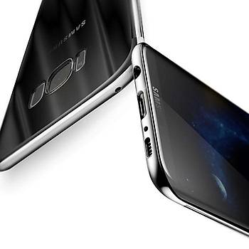 Baseus Samsung Galaxy S8 Plus Glitter Ultra Ýnce TPU Kýlýf Siyah