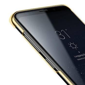 Baseus Glitter Serisi Samsung Galaxy S9 TPU Kýlýf Gold