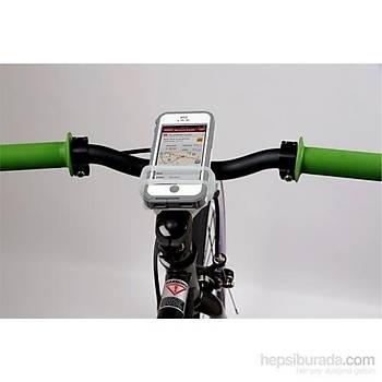 Nýte Ize Handleband Bisiklet Kiti ve Telefon Tutacaðý - Beyaz
