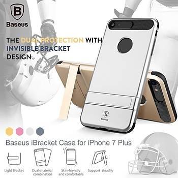 Baseus iBracket Serisi iPhone 7 / 8 Gizli Standlý Kýlýf Gold