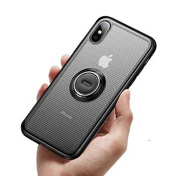 Baseus Dot bracket iPhone XS 5.8inch Siyah Kýlýf