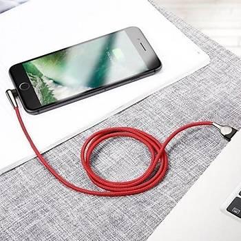 Baseus Mvp 2,4A iPhone Lightning Mobil Oyun Data Þarj Kablosu 1M