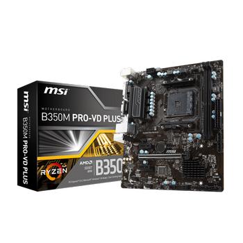 MSI B350M Pro-Vd Plus Ddr4 Usb3.1 Matx Am4 Anakart