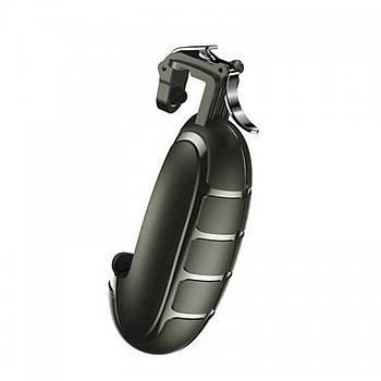 Baseus Grenade Handle Serisi Oyun Kontrol Aparatý Siyah