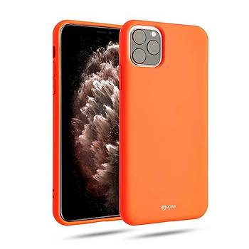 Roar All-Day Jelly Serisi Full Koruma iPhone 11 Pro Max Kýlýf Siyah