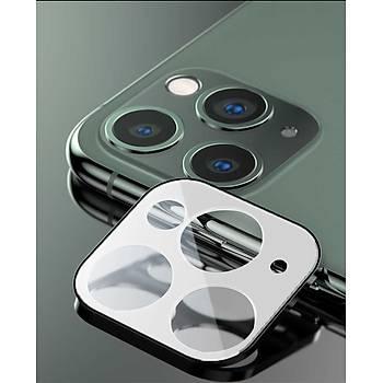 Benks Apple iPhone 11 Pro ve Pro Max Kamera Lens Koruyucu Beyaz