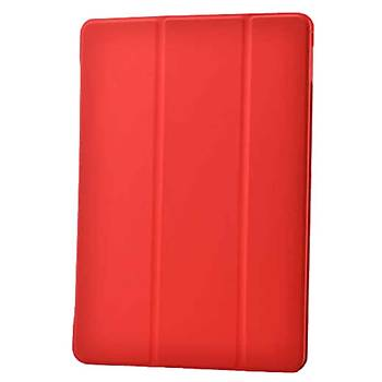 AntDesign Apple iPad Air Smart Cover Standlý Kýlýf Kýrmýzý