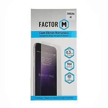 Factor-M Samsung Galaxy A8 2018 Cam Ekran Koruyucu