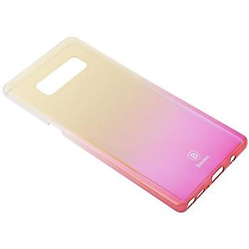 Baseus Samsung Galaxy Note 8 Glaze Kýlýf Pembe