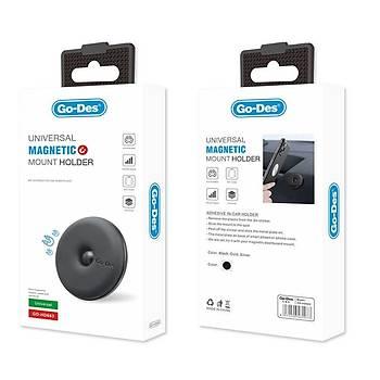 Go-Des GD-HD683 Magnetic Araç Ýçi Güçlü Telefon Tutucu Siyah