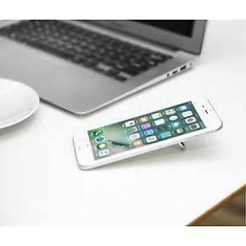Baseus Privity Ring Bracket Telefon Tutucu Yüzük Gümüþ