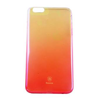 Baseus Glaze Serisi iPhone 6/6S Ultra Slim Transparan Kýlýf Pembe