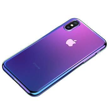 Baseus Glow Serisi iPhone XS Max 6.5 Fosforlu Silikon Kýlýf Siyah
