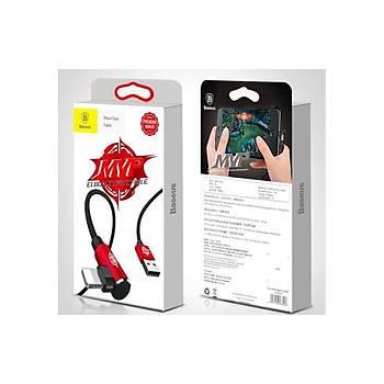 Baseus Mvp Elbow 2A iPhone Lightning Data Þarj Kablosu 1M Kýrmýzý