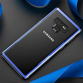 Bensk Magic Shiny Glass Serisi Galaxy Note 9 Kýlýf Mavi
