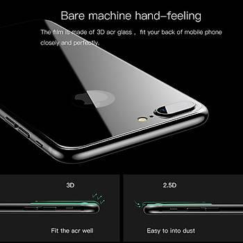 Lito 3D Full Cover iPhone 6 / 6S Cam Ekran Koruyucu Ön Siyah