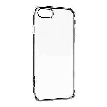 Baseus Shining Serisi iPhone 7 / 8 Kenar Korumalý Tpu Kýlýf Siyah