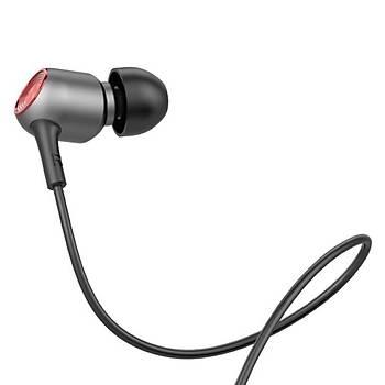Baseus Encok Wire H02 Kulakiçi Mikrofonlu Kulaklýk Siyah Gri