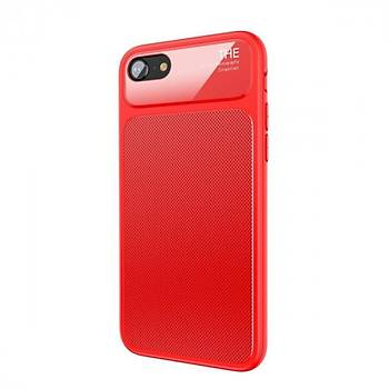 Baseus Knight Serisi iPhone 7 Plus / iPhone 8 Plus Kýlýf Kýrmýzý