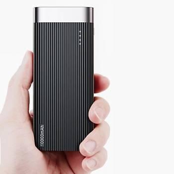 Baseus Parallel Line 10,000 mAh Type-C Micro Usb Taþýnabilir Þarj