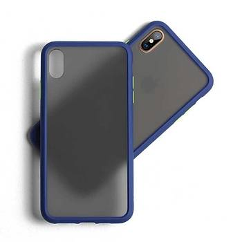 Benks Magic Smooth Apple Ýphone XS Max 6.5 Kýlýf Blue