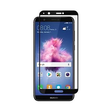 Piili 5D Tüm Yüzey Huawei P Smart Cam Ekran Koruyucu Siyah