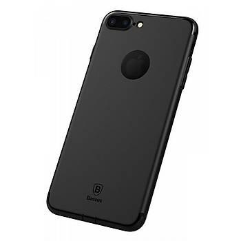 Baseus Slim Serisi Apple iPhone 7 / iPhone 8 Solid Kýlýf Siyah