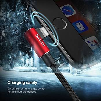Baseus Mvp Elbow 1,5A iPhone Lightning Data Þarj Kablosu 2M